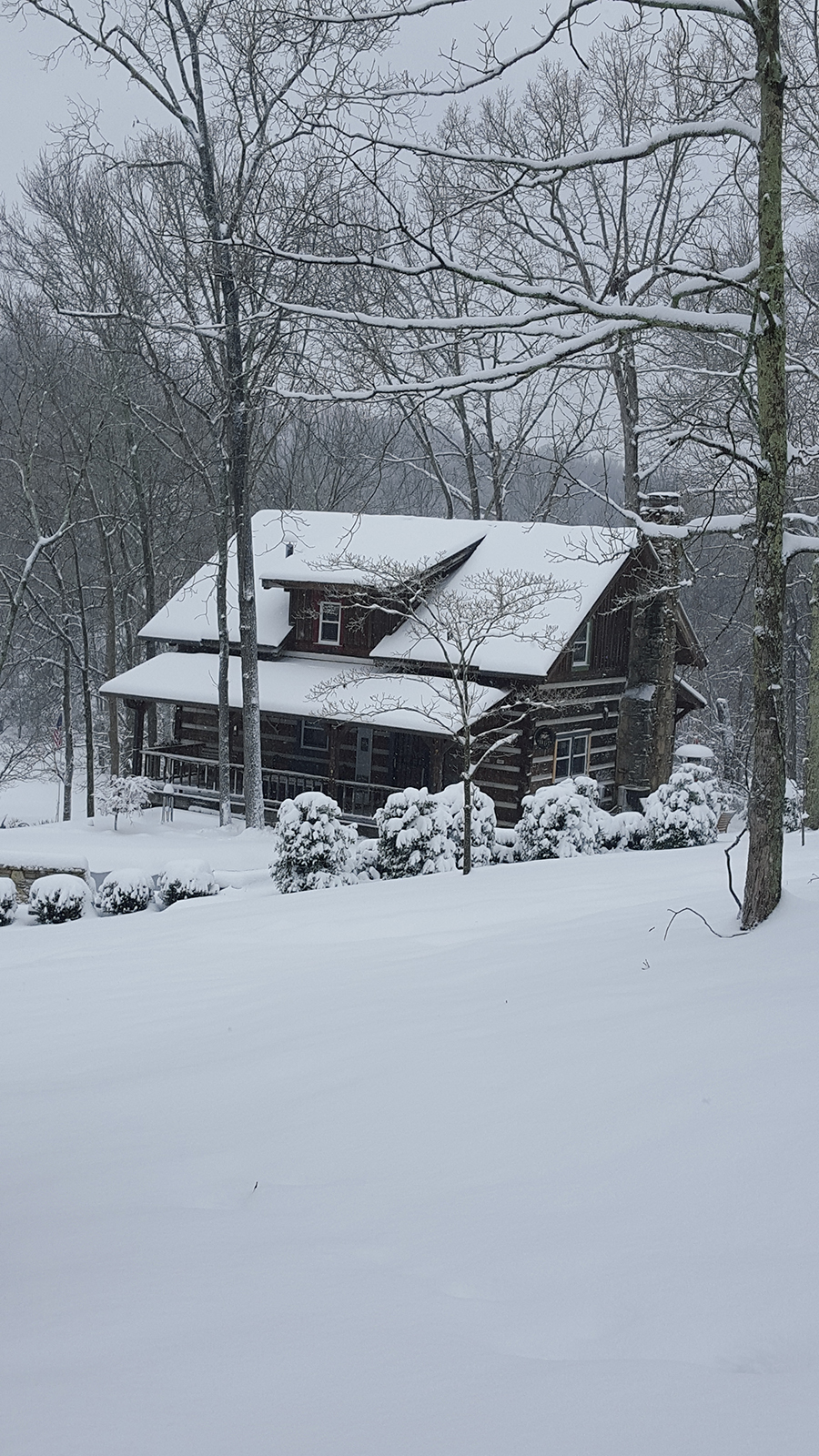 Miller Mountain sauces cabin photo